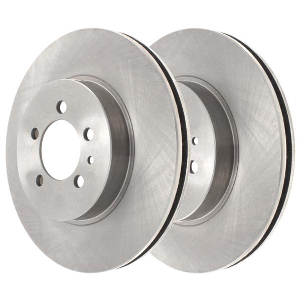 Rear Disc Brake Rotors Set of 2, Driver and Passenger Side - Part # R65181PR