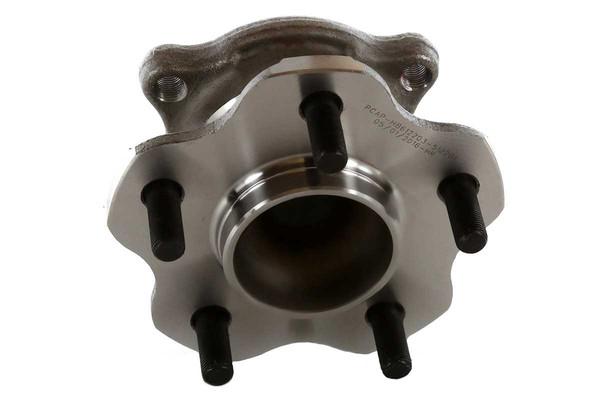 [Rear Set] 2 Brake Rotors & 1 Set Ceramic Brake Pads & 2 Wheel Hub Bearing Assemblies - Part # RHBBK0027