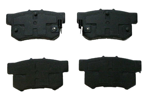 [Rear Set] 2 Brake Rotors & 1 Set Ceramic Brake Pads & 2 Wheel Hub Bearing Assemblies - Part # RHBBK0028