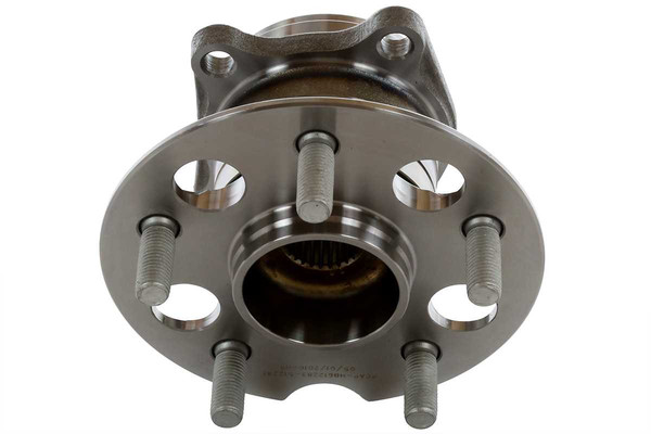 Set of New Rear Brake Rotors Ceramic Pads and Hub Bearing Assemblies - Part # RHBBK0044