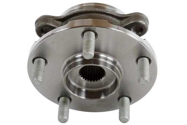 [Front Set] 2 Brake Rotors & 1 Set Ceramic Brake Pads & 2 Wheel Hub Bearing Assemblies - Part # RHBBK0060