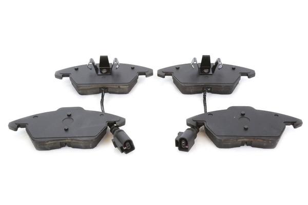 [Front Set] 2 Brake Rotors & 1 Set Ceramic Brake Pads & 2 Wheel Hub Bearing Assemblies - Part # RHBBK0075