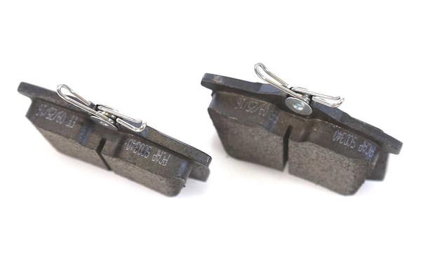 [Rear Set] 2 Brake Rotors & 1 Set Ceramic Brake Pads & 2 Wheel Hub Bearing Assemblies - Part # RHBBK0077