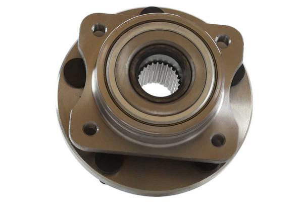 [Front Set] 2 Brake Rotors & 1 Set Ceramic Brake Pads & 2 Wheel Hub Bearing Assemblies - Part # RHBBK0094