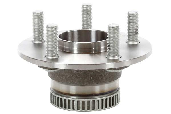 [Rear Set] 2 Brake Rotors & 1 Set Ceramic Brake Pads & 2 Wheel Hub Bearing Assemblies - Part # RHBBK0119