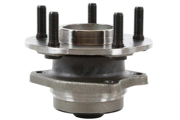 [Rear Set] 2 Brake Rotors & 1 Set Ceramic Brake Pads & 2 Wheel Hub Bearing Assemblies - Part # RHBBK0140