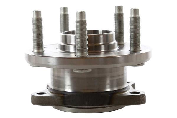 [Rear Set] 2 Brake Rotors & 1 Set Ceramic Brake Pads & 2 Wheel Hub Bearing Assemblies - Part # RHBBK0173