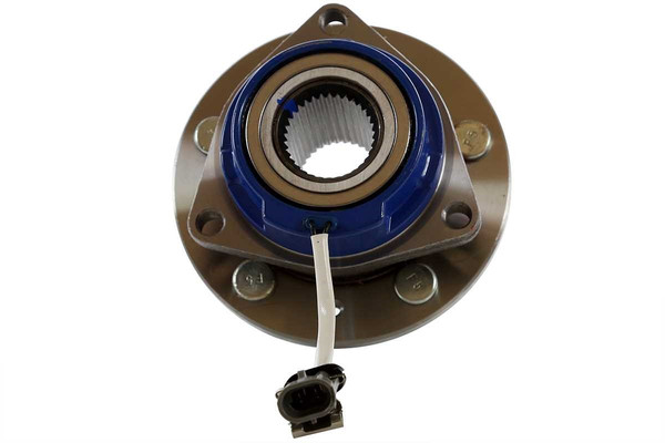 [Front Set] 2 Brake Rotors & 1 Set Ceramic Brake Pads & 2 Wheel Hub Bearing Assemblies - Part # RHBBK0185