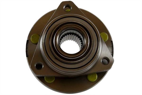 [Front Set] 2 Brake Rotors & 1 Set Ceramic Brake Pads & 2 Wheel Hub Bearing Assemblies - Part # RHBBK0233