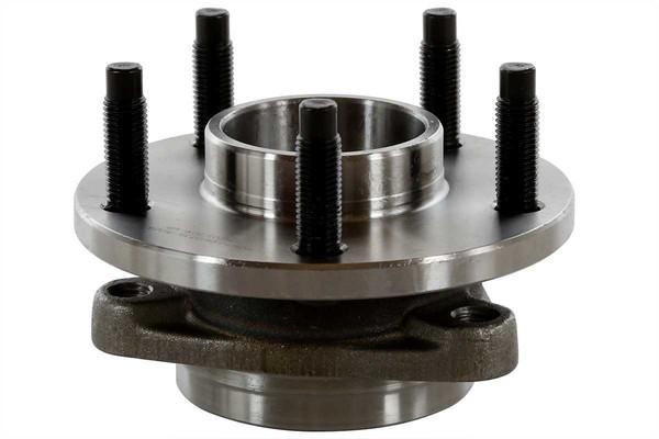 Set of New Front Brake Rotors Ceramic Pads and Hub Bearing Assemblies - Part # RHBBK0248