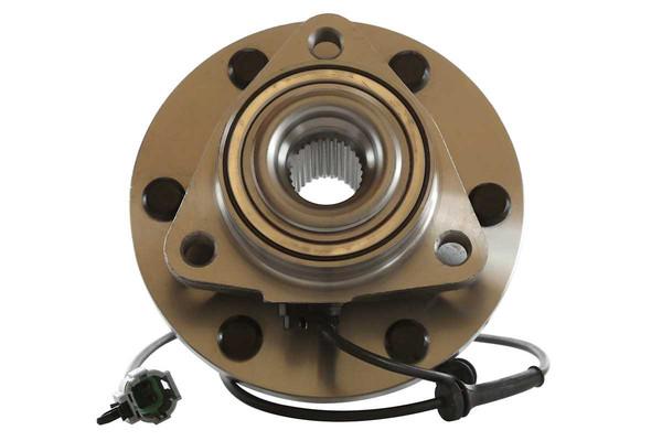 [Front Set] 2 Brake Rotors & 1 Set Ceramic Brake Pads & 2 Wheel Hub Bearing Assemblies - Part # RHBBK0286