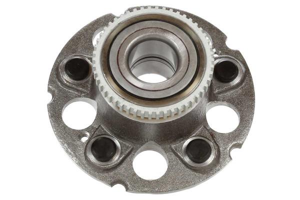 [Rear Set] 2 Brake Rotors & 1 Set Ceramic Brake Pads & 2 Wheel Hub Bearing Assemblies - Part # RHBBK0297