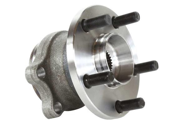 [Rear Set] 2 Brake Rotors & 1 Set Ceramic Brake Pads & 2 Wheel Hub Bearing Assemblies - Part # RHBBK0315