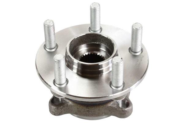 [Front Set] 2 Brake Rotors & 1 Set Ceramic Brake Pads & 2 Wheel Hub Bearing Assemblies - Part # RHBBK0316