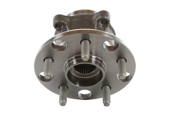Set of New Rear Brake Rotors Ceramic Pads and Hub Bearing Assemblies - Part # RHBBK0328