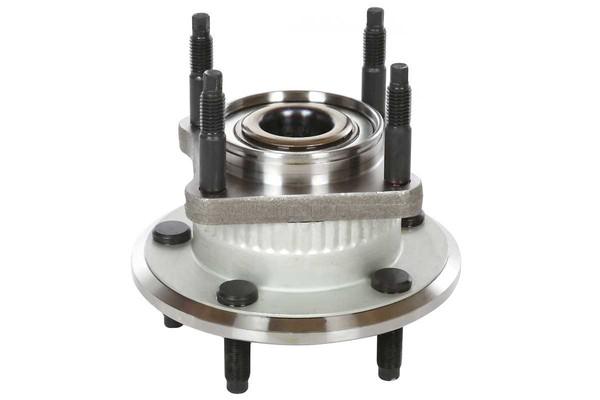 [Rear Set] 2 Brake Rotors & 1 Set Ceramic Brake Pads & 2 Wheel Hub Bearing Assemblies - Part # RHBBK0403