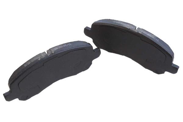 Set of New Front Brake Rotors Ceramic Pads and Hub Bearing Assemblies - Part # RHBBK0407