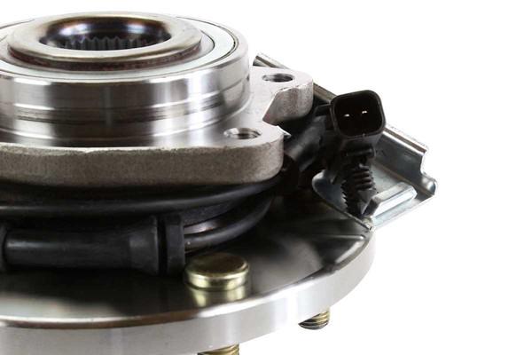 [Front Set] 2 Brake Rotors & 1 Set Ceramic Brake Pads & 2 Wheel Hub Bearing Assemblies - Part # RHBBK0411