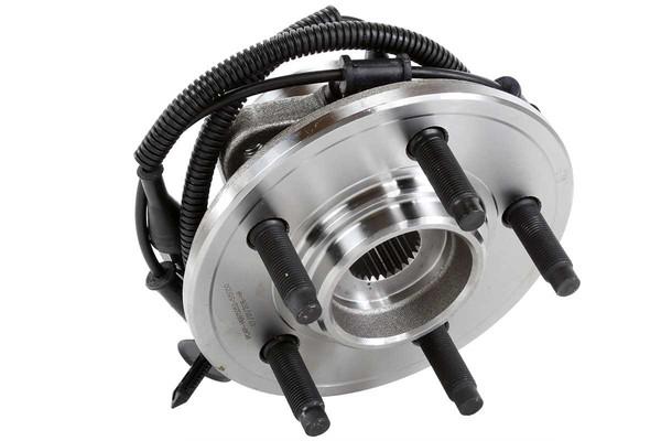 [Front Set] 2 Brake Rotors & 1 Set Ceramic Brake Pads & 2 Wheel Hub Bearing Assemblies - Part # RHBBK0436