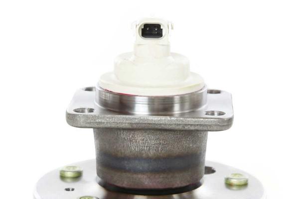 [Rear Set] 2 Brake Rotors & 1 Set Ceramic Brake Pads & 2 Wheel Hub Bearing Assemblies - Part # RHBBK0458