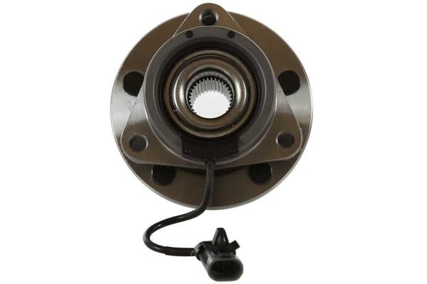 [Front Set] 2 Brake Rotors & 1 Set Ceramic Brake Pads & 2 Wheel Hub Bearing Assemblies - Part # RHBBK0461
