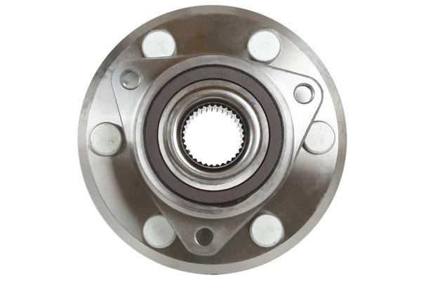 [Front Set] 2 Brake Rotors & 1 Set Ceramic Brake Pads & 2 Wheel Hub Bearing Assemblies - Part # RHBBK0467