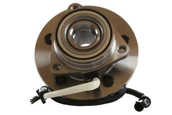 [Front Set] 2 Brake Rotors & 1 Set Ceramic Brake Pads & 2 Wheel Hub Bearing Assemblies - Part # RHBBK0476