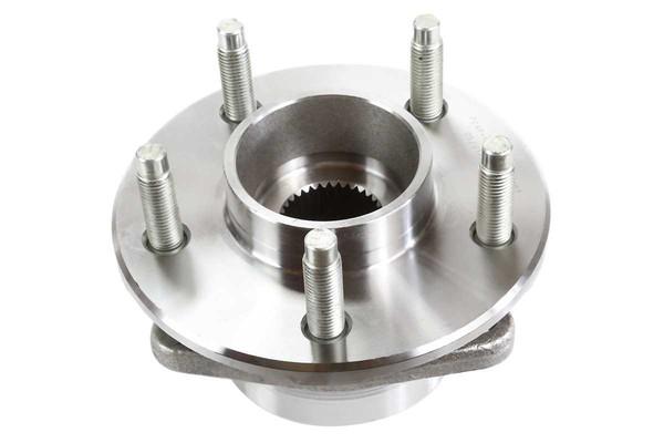 [Front Set] 2 Brake Rotors & 1 Set Ceramic Brake Pads & 2 Wheel Hub Bearing Assemblies - Part # RHBBK0478