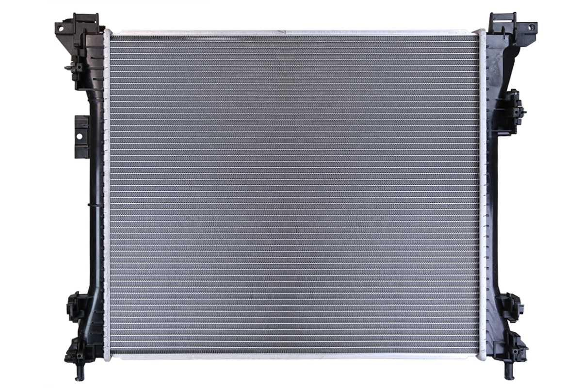 AutoShack RK1227 Aluminum Radiator