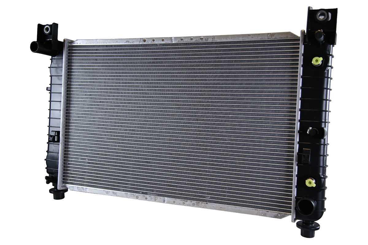 Prime Choice Auto Parts RK966 New Complete Aluminum Radiator