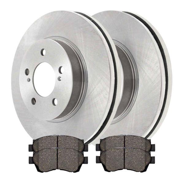 Front Ceramic Brake Pad and Rotor Bundle - Part # RSCD41052-41052-476-2-4
