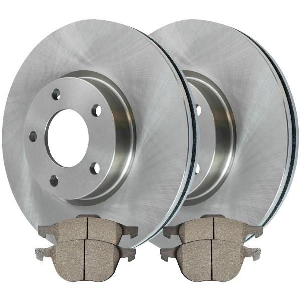 Front Ceramic Brake Pad and Rotor Bundle - Part # RSCD41365-41365-1044-2-4