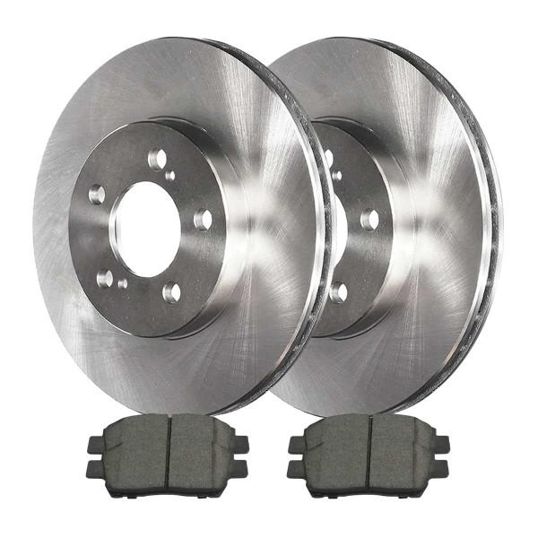 Front Ceramic Brake Pad and Rotor Bundle - Part # RSCD41379-41379-822-2-4