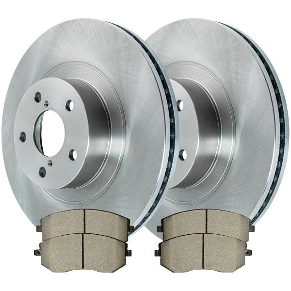 Front Ceramic Brake Pad and Rotor Bundle - Part # RSCD41409-41409-929-2-4