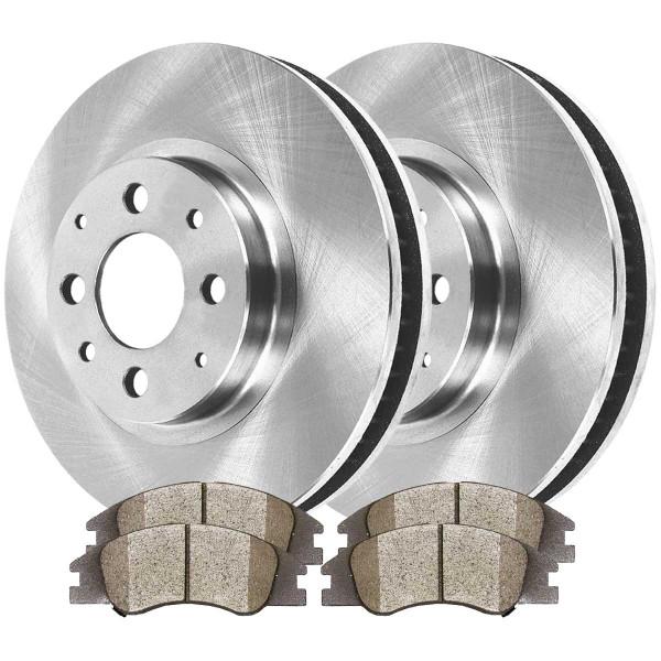 Front Ceramic Brake Pad and Rotor Bundle - Part # RSCD41419-41419-1074-2-4