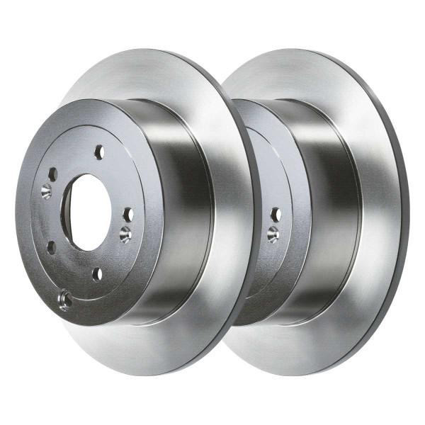 Rear Ceramic Brake Pad and Rotor Bundle - Part # RSCD41443-41443-1297-2-4