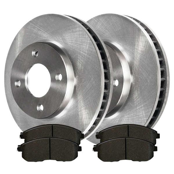 Front Ceramic Brake Pad and Rotor Bundle - Part # RSCD41465-41465-815A-2-4