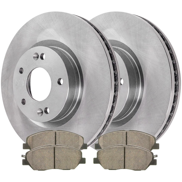 [Set] Compete Front Ceramic Brake Pads & Disc Rotors [Set] - Part # RSCD41491-41491-1202-2-4