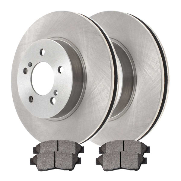 Front Ceramic Brake Pad and Rotor Bundle - Part # RSCD4293-4293-562-2-4
