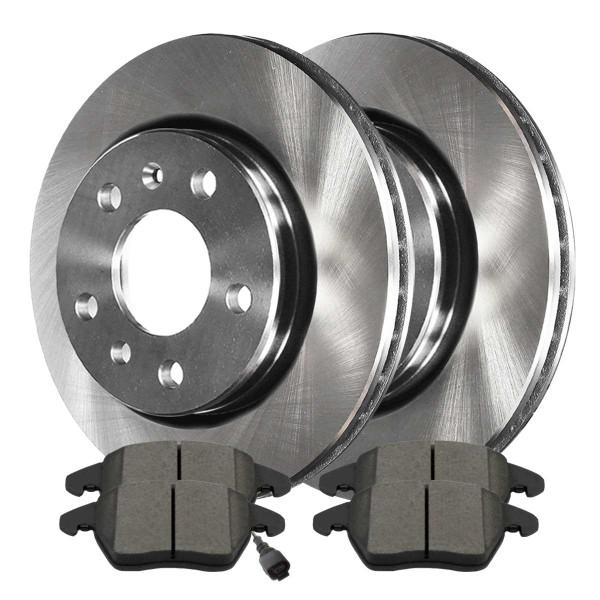 Front Ceramic Brake Pad and Rotor Bundle 280mm Rotor Diameter - Part # RSCD44145-44145-768A-2-4