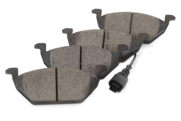 [Front Set] 2 Brake Rotors & 1 Set Ceramic Brake Pads - Part # RSCD44145-44145-768A-2-4