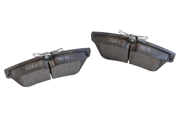 [Front Set] 2 Brake Rotors & 1 Set Ceramic Brake Pads - Part # RSCD63002-63002-841-2-4