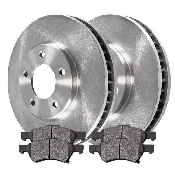Front Ceramic Brake Pad and Rotor Bundle - Part # RSCD63006-63006-857-2-4