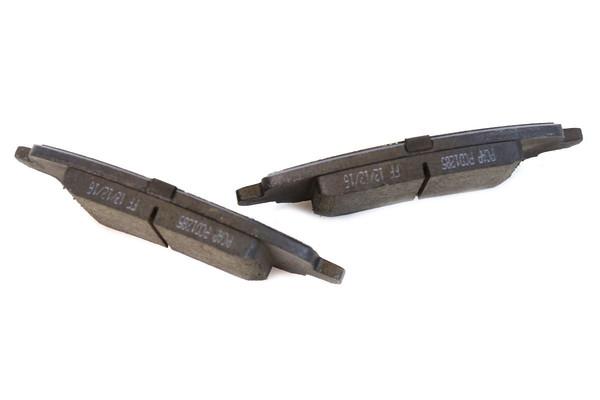 [Front Set] 2 Brake Rotors & 1 Set Ceramic Brake Pads - Part # RSCD63040-63040-1285-2-4