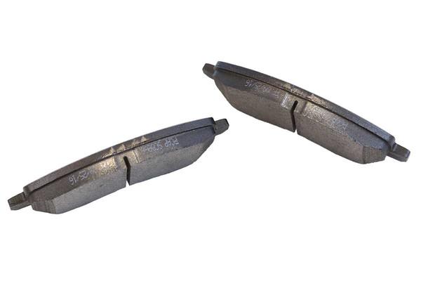 [Front Set] 2 Brake Rotors & 1 Set Ceramic Brake Pads - Part # RSCD63040-63040-866-2-4