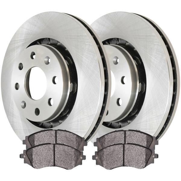 Front Ceramic Brake Pad and Rotor Bundle - Part # RSCD65101-65101-797-2-4