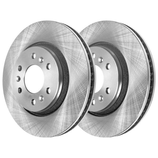 Front Ceramic Brake Pad and Rotor Bundle - Part # RSCD65120-65120-1075-2-4