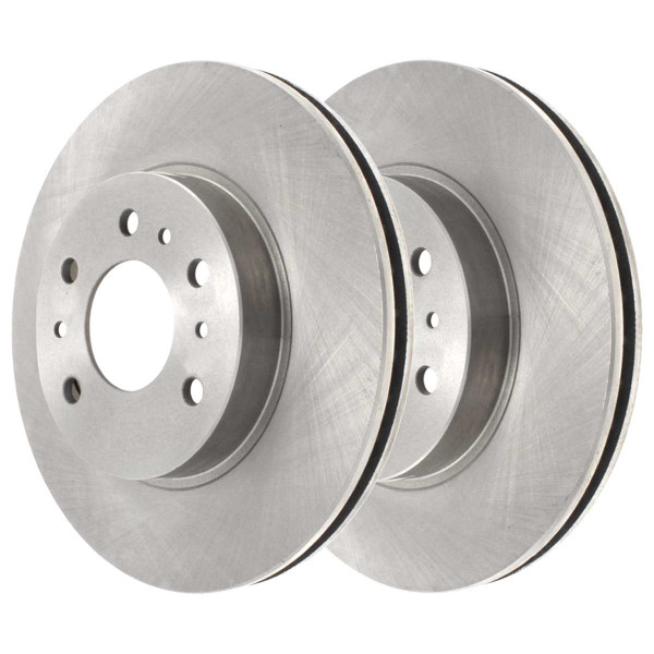 Front Ceramic Brake Pad and Rotor Bundle 11.92 Inch Rotor Diameter - Part # RSCD65128-65128-1159-2-4