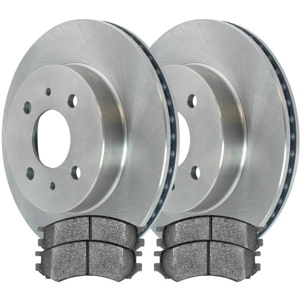 Front Ceramic Brake Pad and Rotor Bundle - Part # RSCD6583-6583-507-2-4