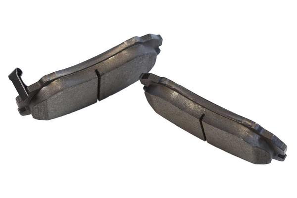 [Front Set] 2 Brake Rotors & 1 Set Semi Metallic Brake Pads - Part # RSMK41386-41386-924-2-4